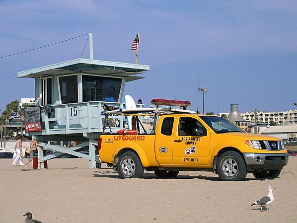 Côte Californienne Santa Monica plage 2