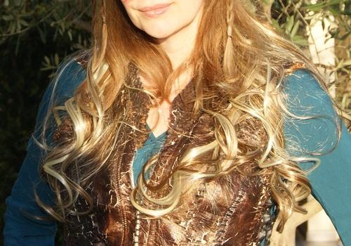 Armure Lagertha en tapis de sol
