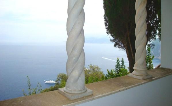 Anacapri, panarama depuis les jardins de la Villa San Miche