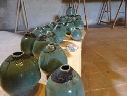 les céramiques de Cristophe Cognard en expo à la Tour