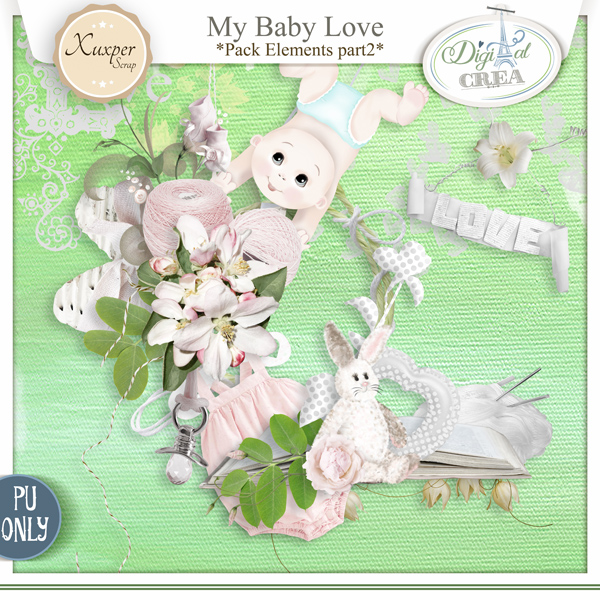 My Baby love by Xuxper Designs