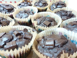 Muffins extras tout choco