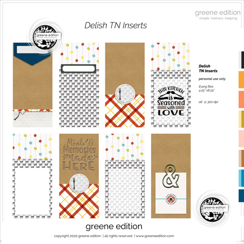 Delish kit and Templates