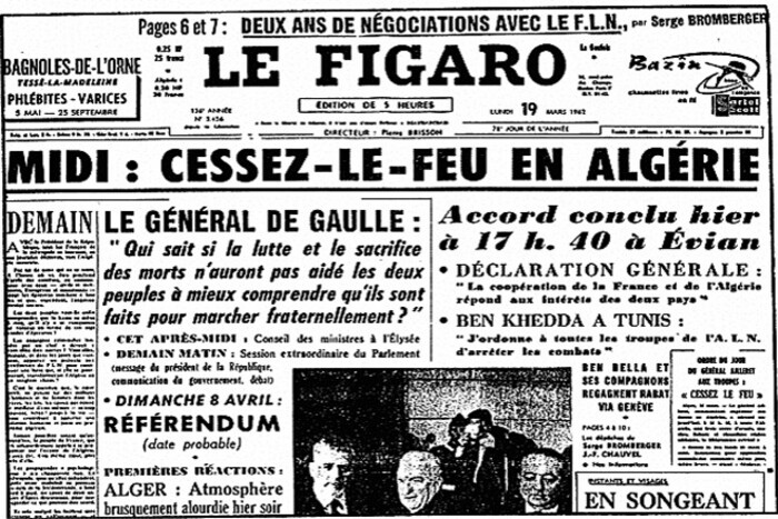 L'Algérie à Evian : l'issue victorieuse du 19 mars 1962 que les nostAlgériques ne digèrent toujours pas