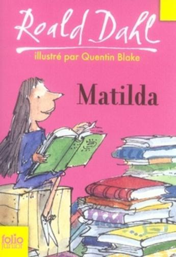 """Résultat de recherche d'images pour """"matilda roald dahl couverture"""""""