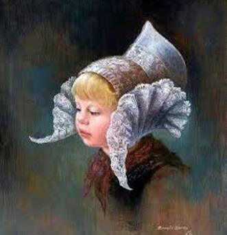**  LES COIFFES d'Autrefois vu par des Peintres**.   en cours
