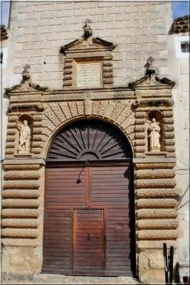 Chartreuse de Valbonne 13ème siècle portail Gard