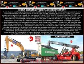 CHINA MACHINERY EXPORT