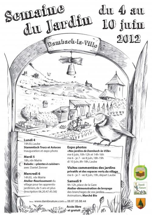 Semaine du Jardin du 4 au 10 juin 2012