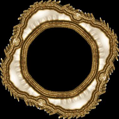 Cadres dorés série 3 vieil or (1)