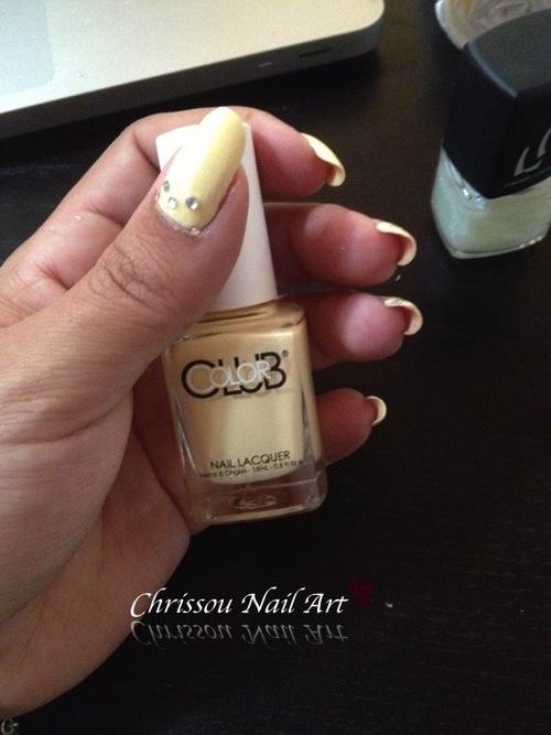 Nail art mariage