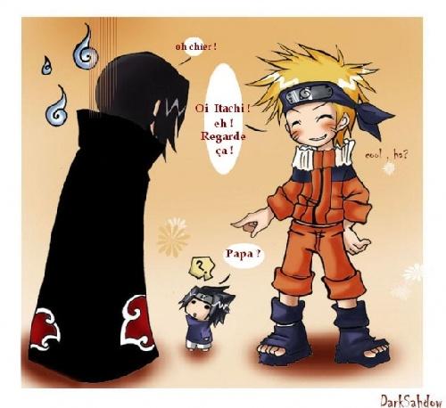 itachi naruto et sasuke