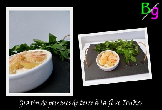 Gratin de pommes de terre à la fève Tonka