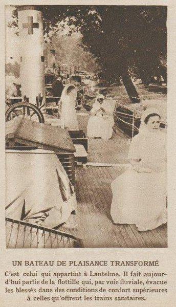 Le Miroir 1914-10-25 yacht Lantelme