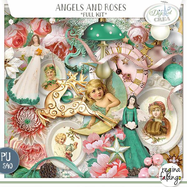 ANGELS AND ROSES BY REGINAFALANGO