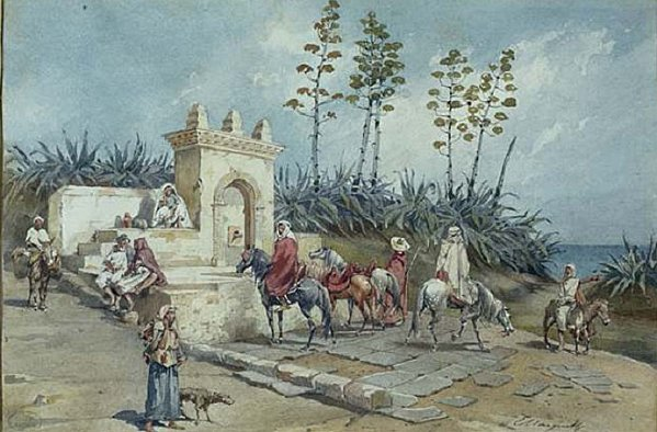 emile-marquette-fontaine-environs-alger 1248687495