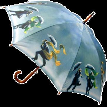 Tubes accessoirs féminins (2013) - Thème Les Parapluies - série 01