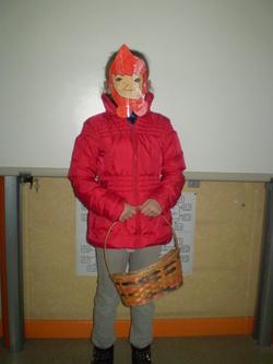 Le petit chaperon rouge au carnaval
