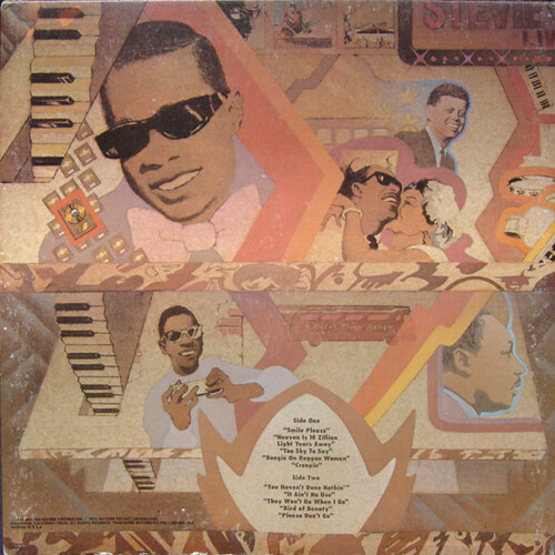 "Stevie Wonder : Album "" Fulfillingness' First Finale "" Tamla Records T6-332S1 [ US ]"