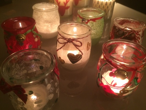 Photophores de Noël