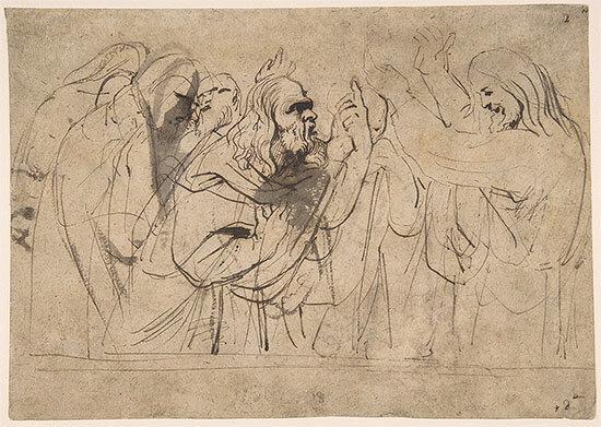 Le Christ et les pharisiens