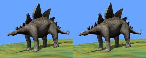 Un stégosaure