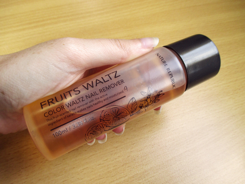 Mon dissolvant coréen de chez Nature Republic : Fruits Walts Nail Remover