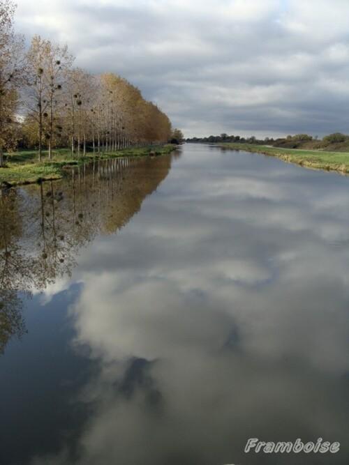 Canal de la Martinière au Migron