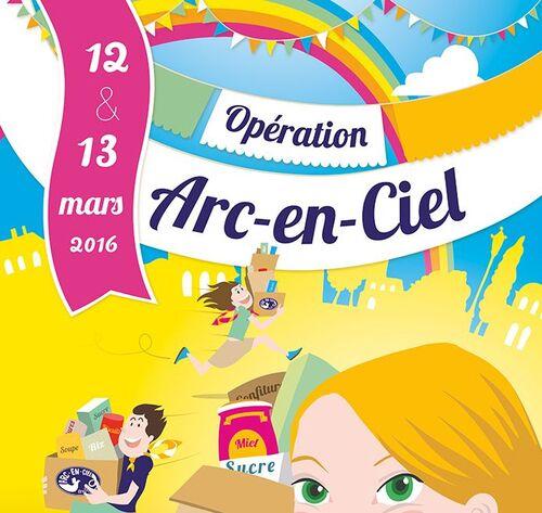 [Ecole] Opération Arc-en-ciel 2016
