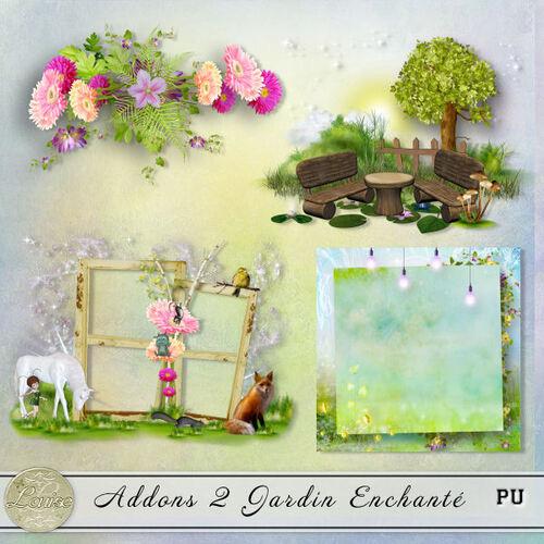 Addons Jardin Enchanté
