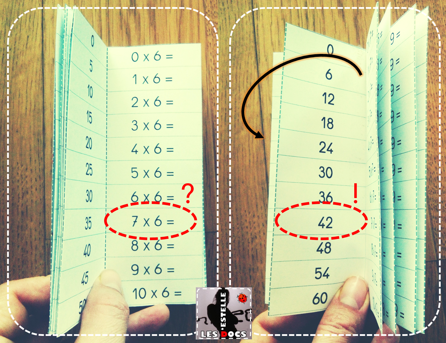 R pertoire d 39 apprentissage des tables de multiplication les docs d 39 estelle - Application table de multiplication ...