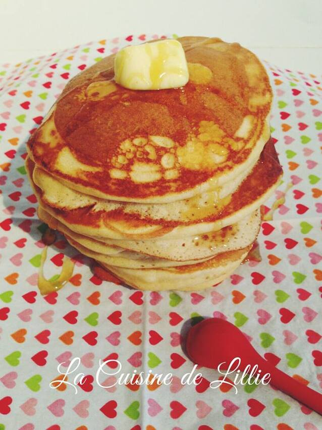Pancakes à l'Américaine ultra-moelleux