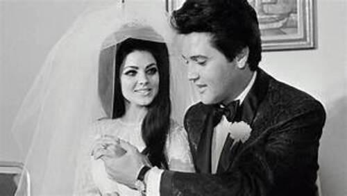 Elvis Presley & Priscilla Beaulieu Presley