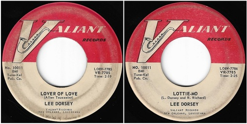 LEE DORSEY FIRTS SINGLES - 1959 - 1969