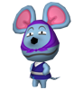 Sourizzi animal crossing WII