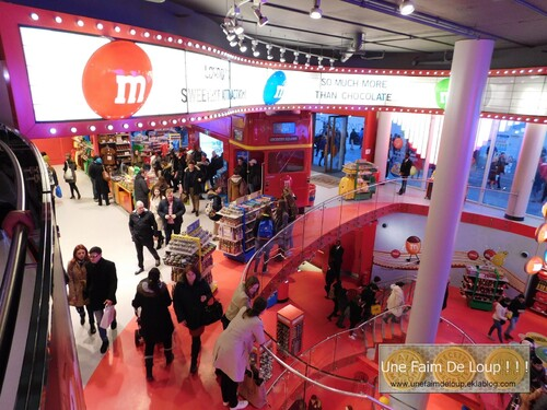 "Boutique ""M&M's World"" Londres"