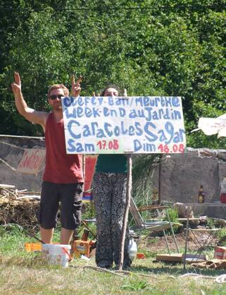 Festival au jardin des sagars