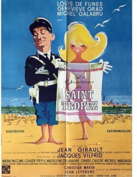 LE GENDARME DE SAINT TROPEZ BOX OFFICE USA 1965