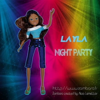 promo layla night party