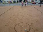 Séance de boule lyonnaise : ateliers de précision