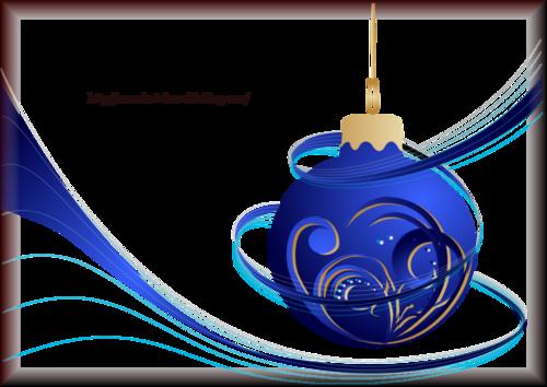 Tube Boule de Noël 2964