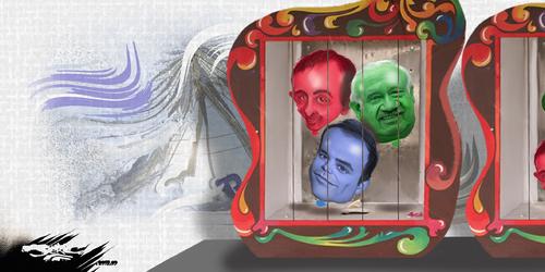 dessin de JERC et AKAKU du mardi 25 septembre 2018 caricature Marcel Campion, Éric Zemmour, Charles Consigny Fête For Haine www.facebook.com/jercdessin @dessingraffjerc