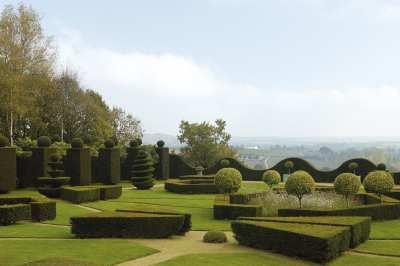 Jardin du chateau de la Ballue