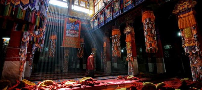 Monastère de Drepung Lhassa Tibet