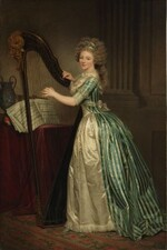 Rose-Adélaïde Ducreux, French painter, composer, and musician.