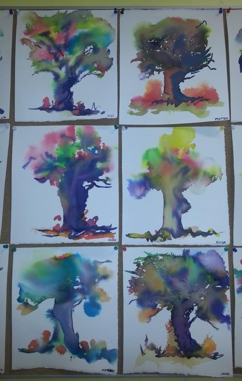 Une artiste dans la classe...