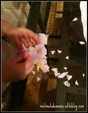 découpe flocon papier