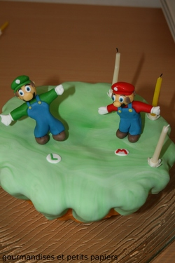 SWEET TABLE D'ANNIVERSAIRE THEME MARIO