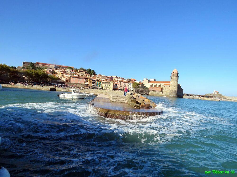 sur la mer à Port Vendres -4