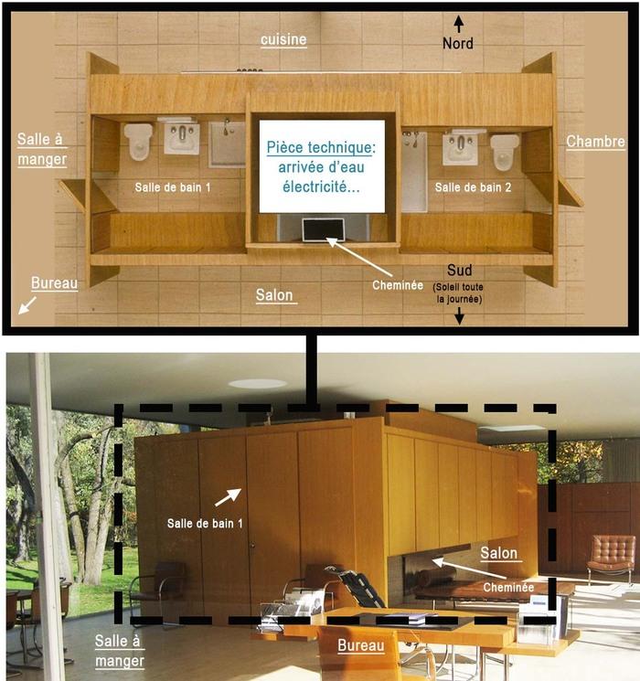 la maison farnsworth de l 39 architecte mies van der rohe le blog du ma tre. Black Bedroom Furniture Sets. Home Design Ideas